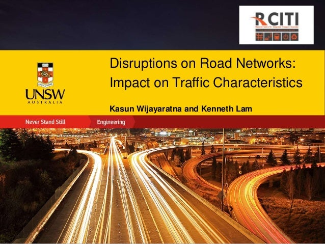 the impact of road network on The road network is the system of interconnected roads designed to  the  economic impact of road networks extend in most cases beyond.