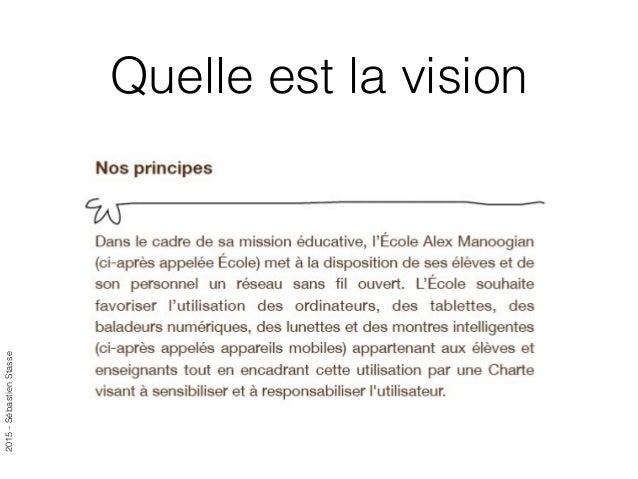 2015-SébastienStasse Quelle est la vision