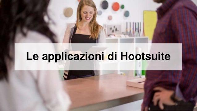 Le applicazioni di Hootsuite