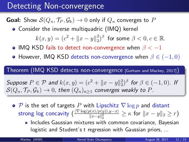 Program On Quasi Monte Carlo And High Dimensional Sampling Methods Fo