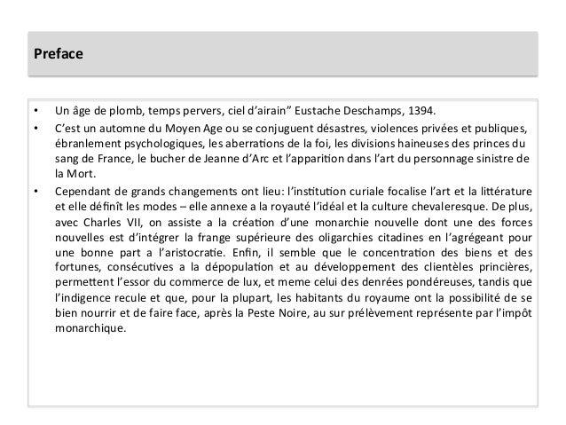 """Preface • Un âge de plomb, temps pervers, ciel d'airain"""" Eustache Deschamps, 1394. • C'est un..."""