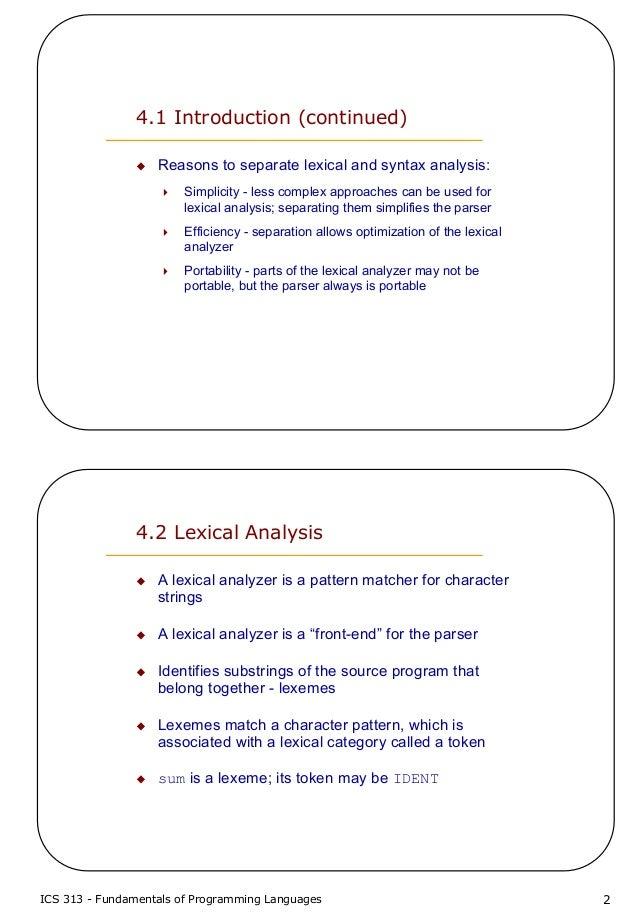 write a program for lexical analyzer