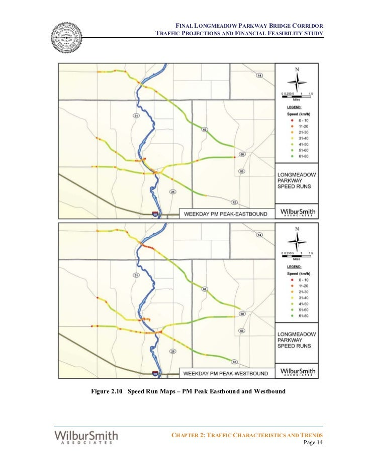 FINAL LONGMEADOW PARKWAY BRIDGE CORRIDOR                   TRAFFIC PROJECTIONS AND FINANCIAL FEASIBILITY STUDYFigure 2.10 ...