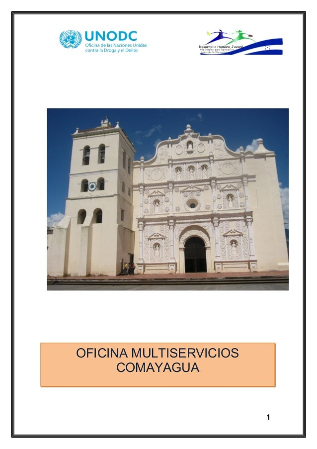 1 OFICINA MULTISERVICIOS COMAYAGUA
