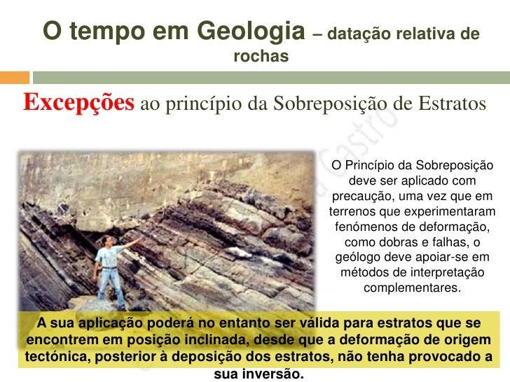 Em vários ponto da Terra pode existir a mesma sequência estratigráfica,     isto é, há correlação entre estratos distancia...