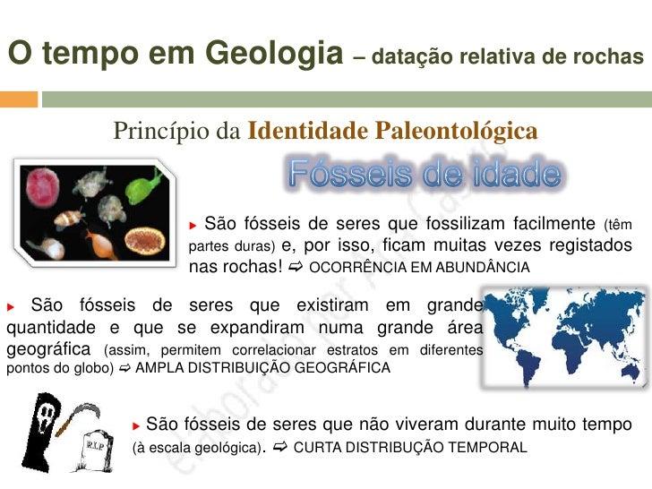 Mais informações sobre FÓSSEIS  Mas nem todos os fósseis apresentam características que lhes          permitem ajudar na d...