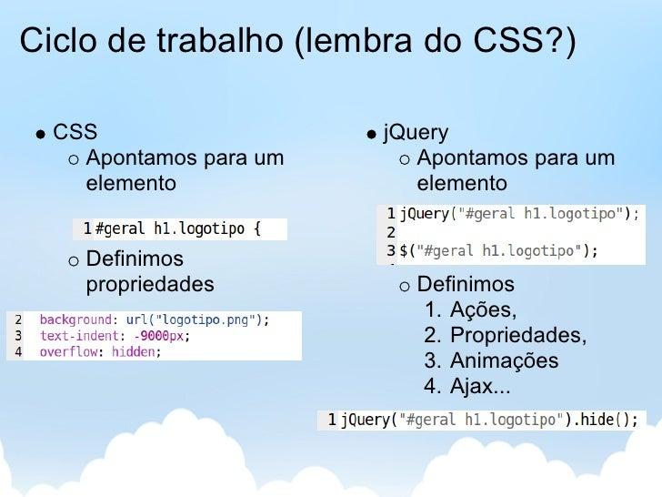 Desevolvimento Web Client-side - jQuery Slide 3
