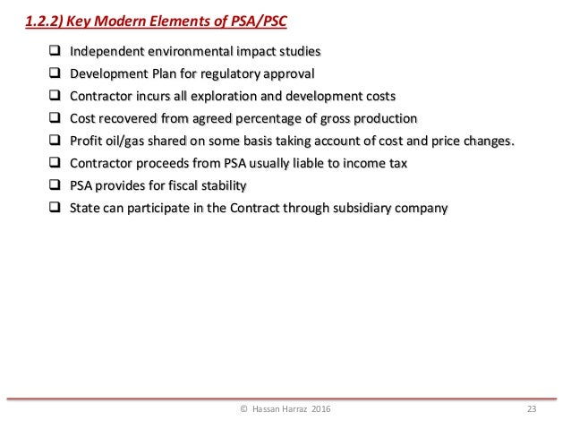 Topic 4 TYPES OF PETROLEUM CONTRACTS AGREEMENT – Profit Sharing Agreement Template
