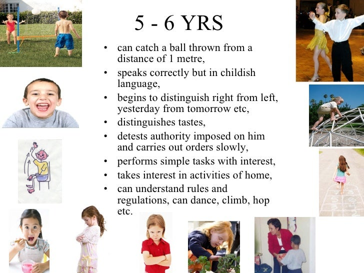 Important Milestones: Your Child By Five Years