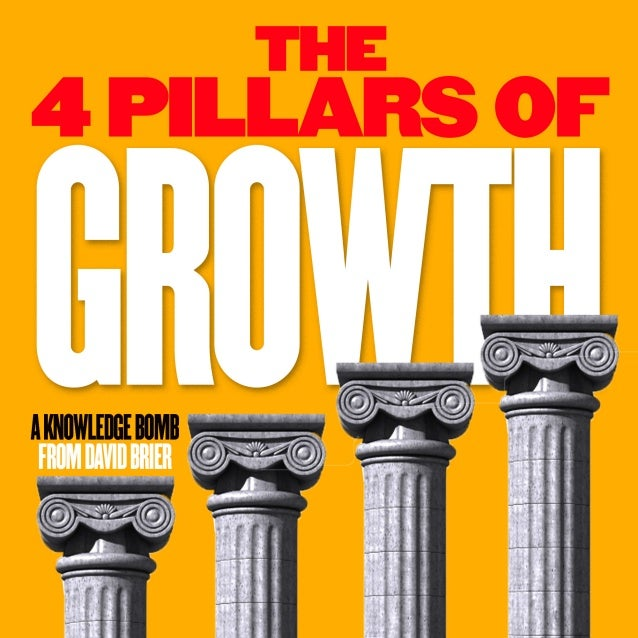 The 4 Pillars of Growth by David Brier