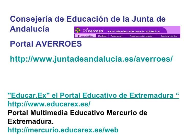 4 portales educativos tic for Junta de andalucia educacion oficina virtual
