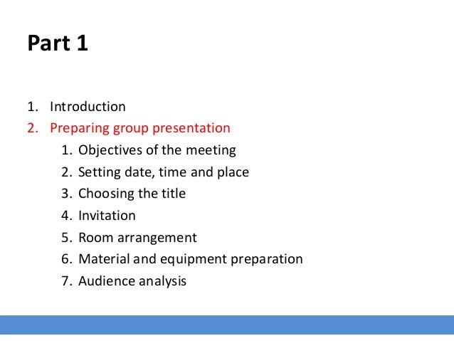 Presentation Skills - Presenting to a Group