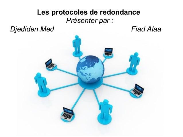 Pour plus de modèles : Modèles Powerpoint PPT gratuits Page 1 Free Powerpoint Templates Les protocoles de redondance Prése...
