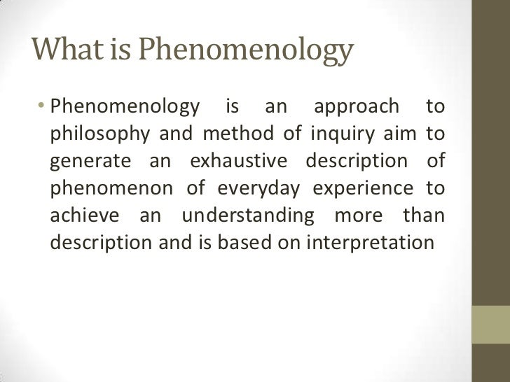 "phenomenology as a research method ""phenomenology has long served as a research model for many psychologists and other social science scholars and professionals yet there are few books."