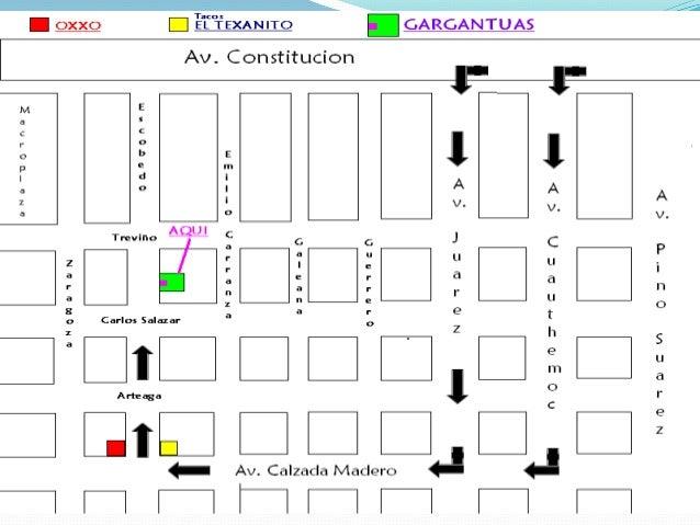 4 repre esp mapas gps for Croquis de casas