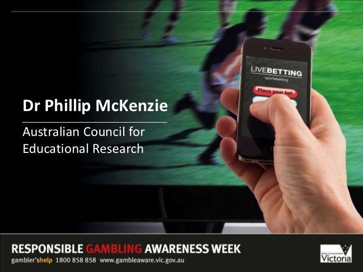 Dr Phillip McKenzie<br />Australian Council for Educational Research<br />