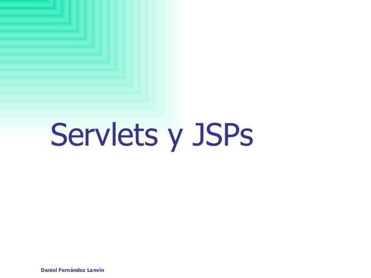Servlets y JSPs