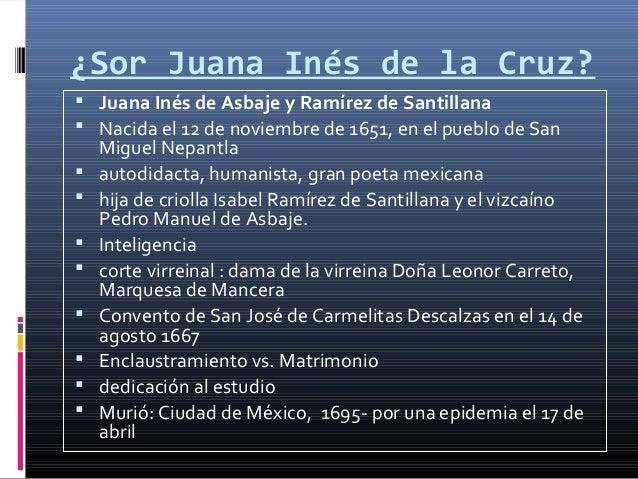 Sor Juana de la Cruz Analisis Slide 3