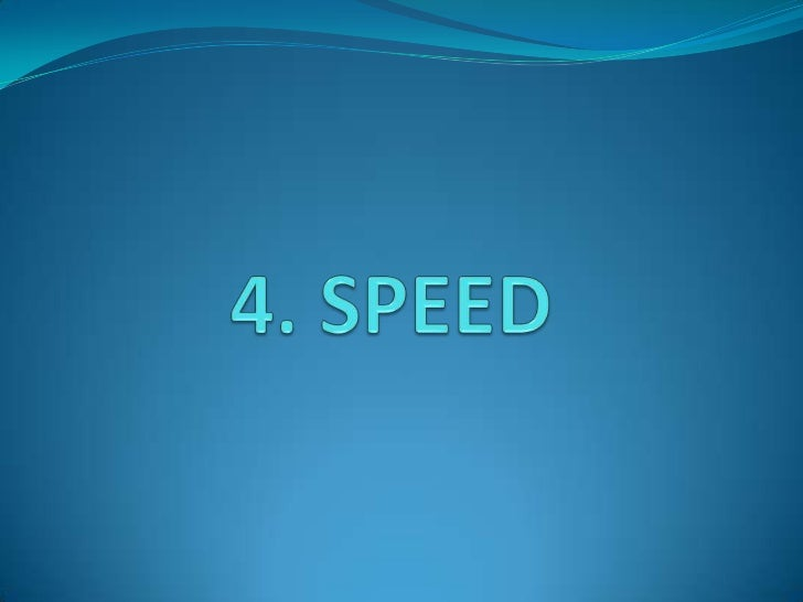 SPEED = DISTANCE / TIMEThree types of speeds:     • AIRSPEED: Rate of change of position in relation to            time, o...