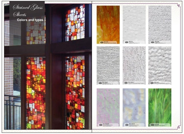 we produce stained glass projects through using two types of sheet royal sheet european american - Colored Glass Sheets