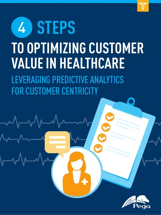 4 STEPS TO OPTIMIZING CUSTOMER VALUE IN HEALTHCARE LEVERAGING PREDICTIVE ANALYTICS FOR CUSTOMER CENTRICITY