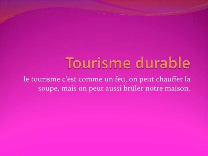 Le tourisme durable en Belgique