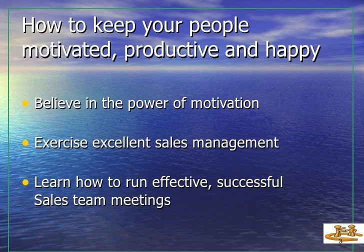 """how to run a successful meeting How to run a more effective meeting  and everybody piles on with their ideas to make those projects as successful as they can be,"""" she said."""