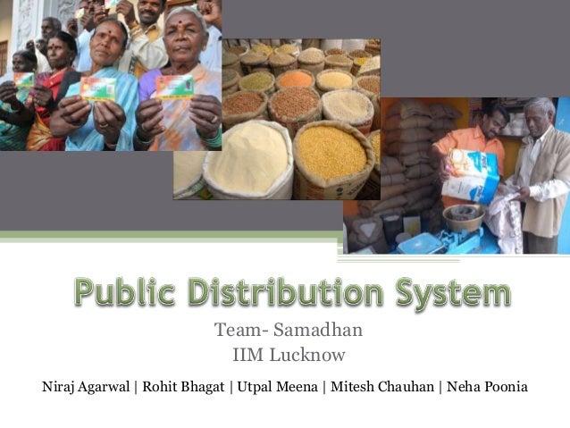 Team- Samadhan IIM Lucknow Niraj Agarwal   Rohit Bhagat   Utpal Meena   Mitesh Chauhan   Neha Poonia