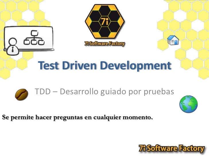 7iSF-4   test driver development