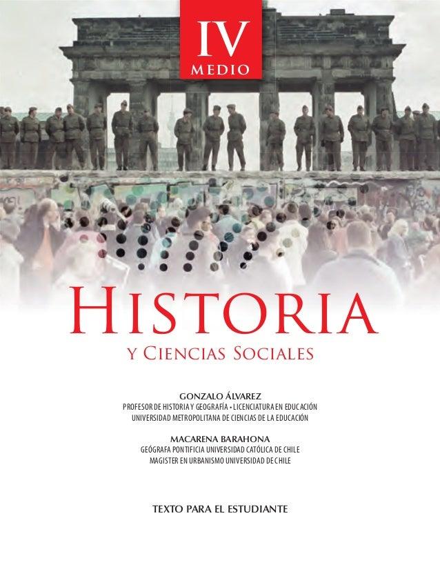 IV                                                  medio                       Historiay Ciencias Sociales               ...