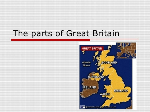 The parts of Great Britain