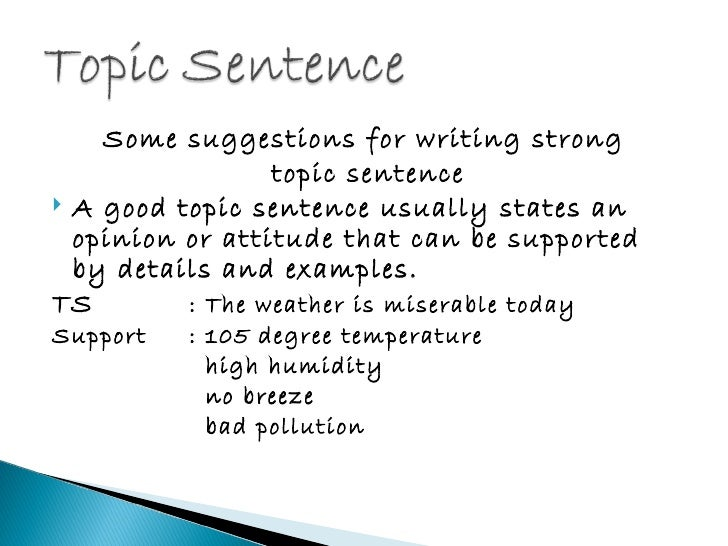 topic essay examples The subtopic of an essay is a topic that supports the main topic of the essay and helps to bolster its credibility an example of a subtopic in an essay about.