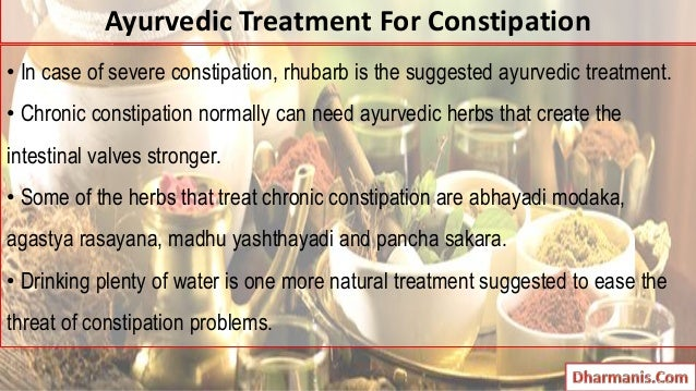 Treat Chronic Constipation Naturally
