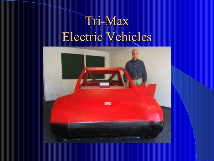Tri-Max Electric Vehicles