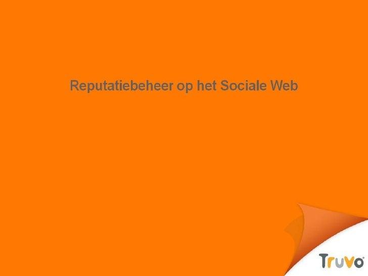 4. Truvo. Orm And Social Media Nl Ic Tloket