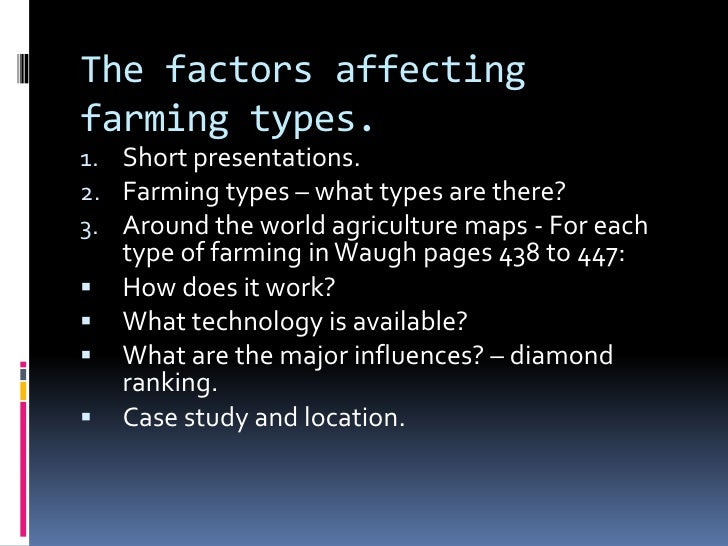 types of farming Sustainable farming or in a broader term, sustainable agriculture is using farming practices considering the ecological cycles it is also sensitive towards the microorganisms and their equations with the environment at large in simpler terms, sustainable farming is farming ecologically by.