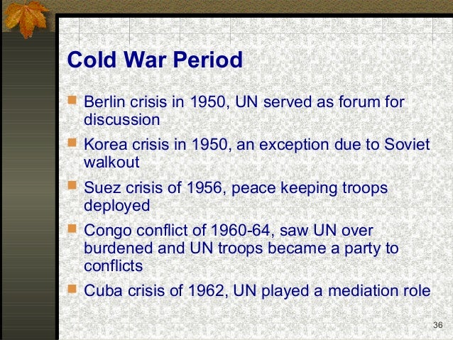 analyse role cuba development cold war The confrontation is often considered the closest the cold war came to escalating into a full-scale nuclear war in response to the failed bay of pigs invasion of 1961 and the presence of.