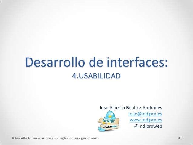 Desarrollo de interfaces:                                         4.USABILIDAD                                            ...