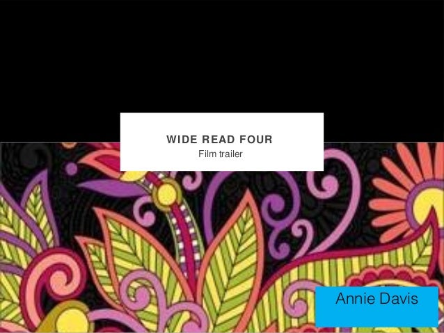WIDE READ FOUR    Film trailer                   Annie Davis