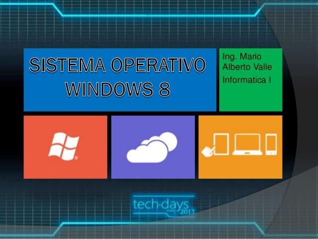 4 windows8 carpetas. Ing. Mario Alberto Valle Informatica I ...