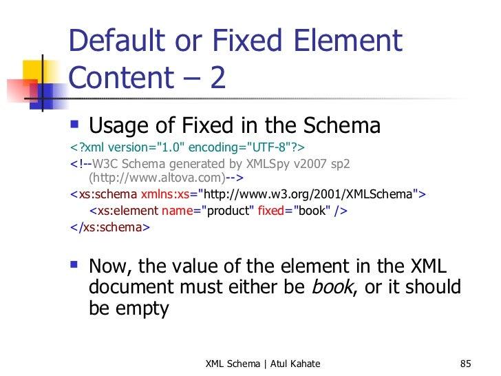 4 xml namespaces and xml schema