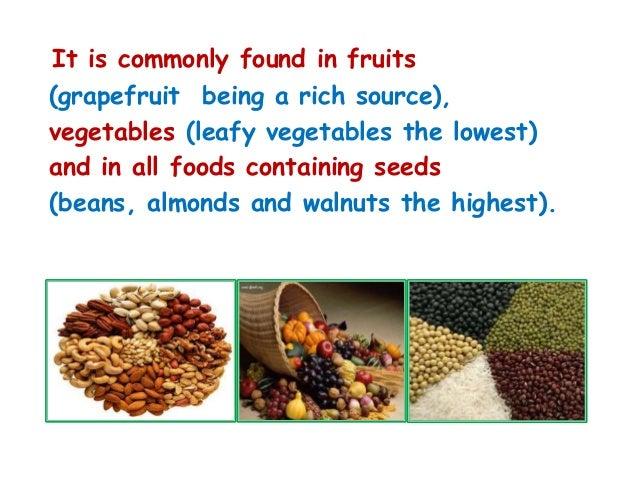 Foods Containing Inositol