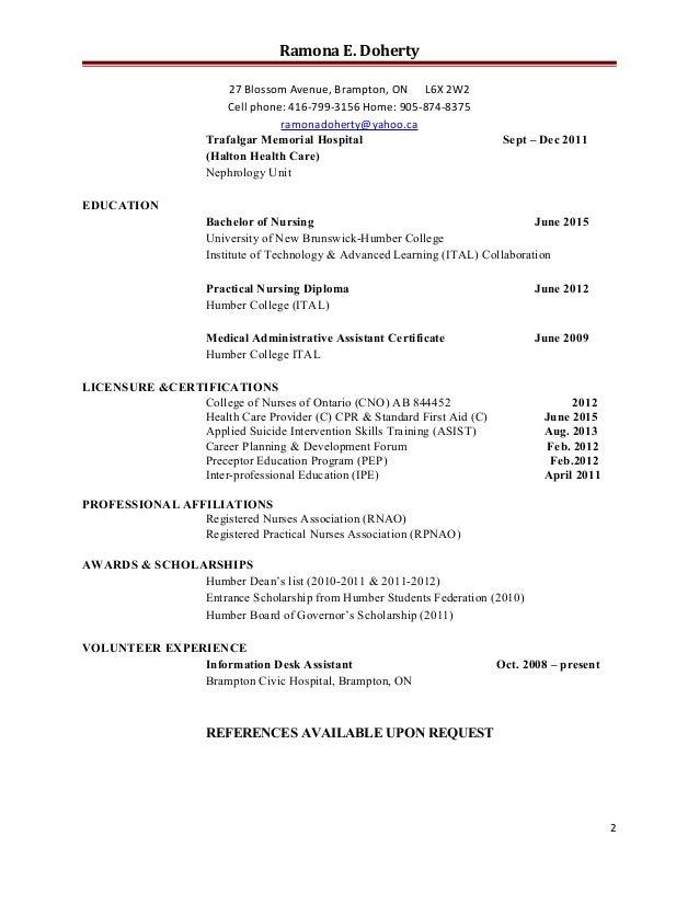 eportfolio rn resume  revised