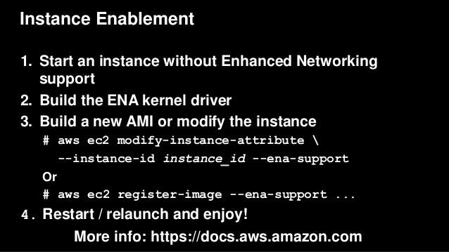 AWS re:Invent 2016: Optimizing Network Performance for