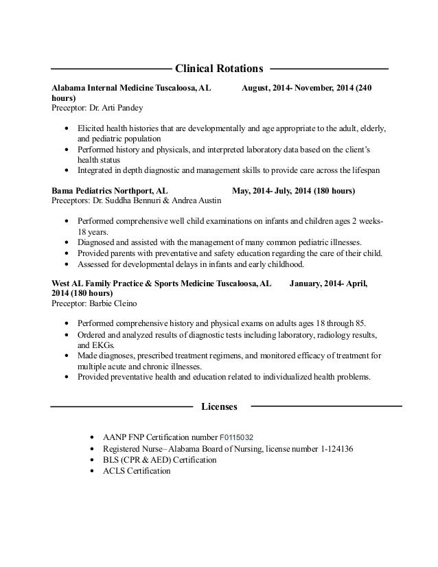 how to write clinicla rotations on nursing resume 28 images how