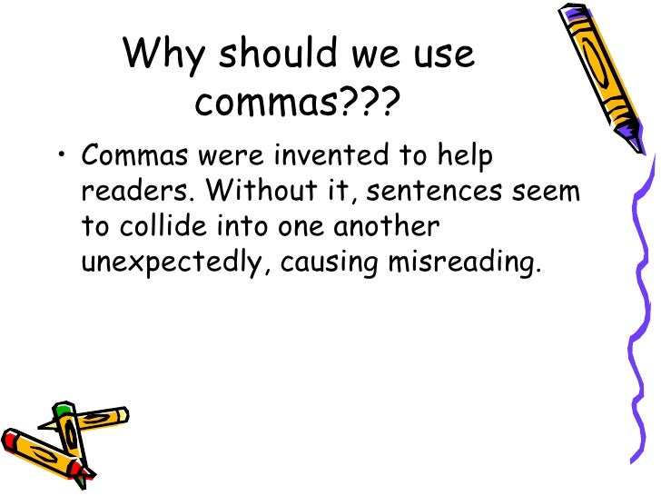 when should i use a comma