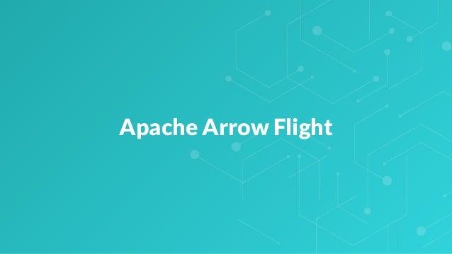Apache Arrow Flight