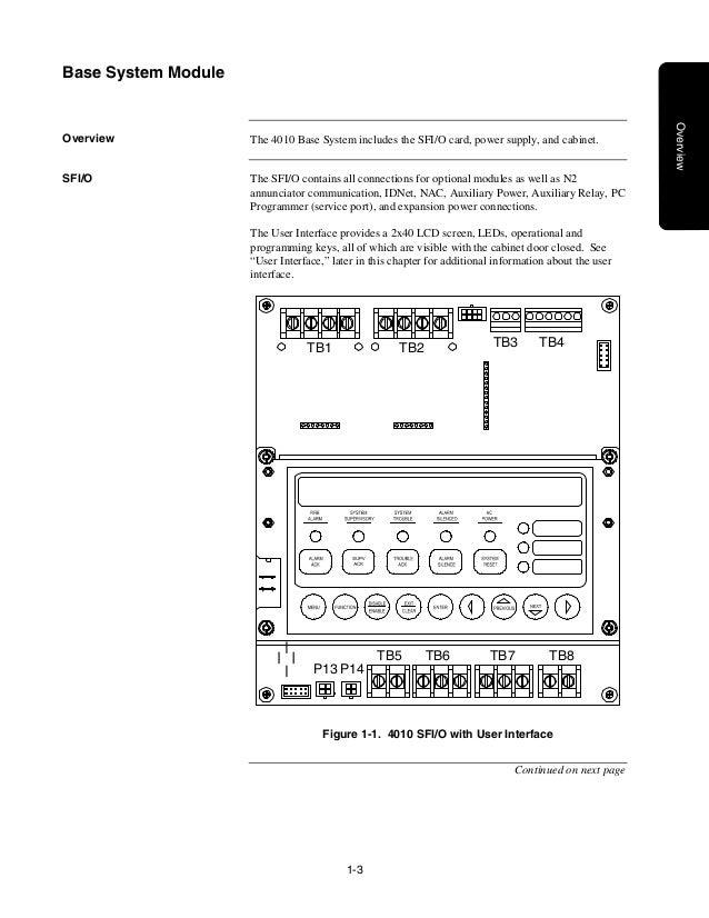 4098 detectors sensors and bases application manual