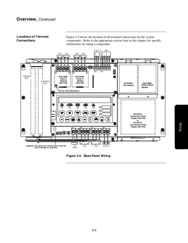 4010 front panel installing, operating and programming manual simplex dact  wiring diagram