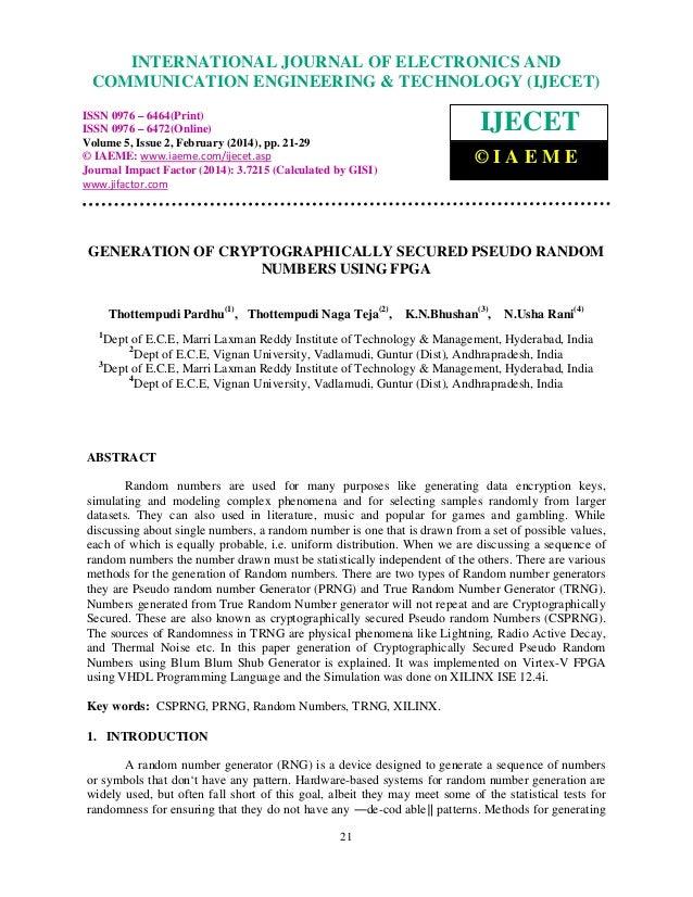 International Journal of Electronics and JOURNALEngineering & Technology (IJECET), ISSN 0976 – INTERNATIONAL Communication...